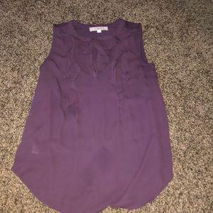 Sheer Purple Business Top!!!
